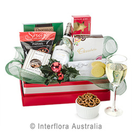 Gourmet Christmas Treats with Wine