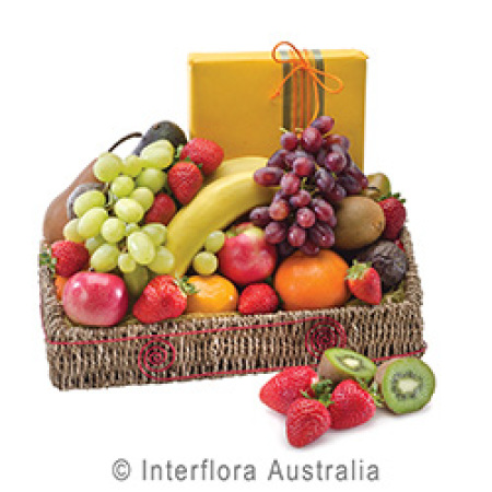 Fruit and Chocolates Basket/Box