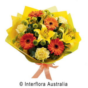 Colourful bouquet of Mixed flowers